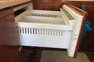 63' Bertram Convertible 2007 Galley Refrigerated Drawers