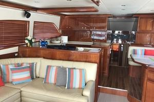 63' Bertram Convertible 2007 Main Salon Forward