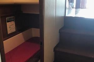 63' Bertram Convertible 2007 Stairs to Guest Staterooms