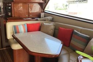 63' Bertram Convertible 2007 Dining Settee