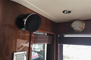 63' Bertram Convertible 2007 Main Salon Surround Speakers