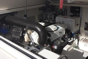 40' Cabo Express 2011 Port Engine