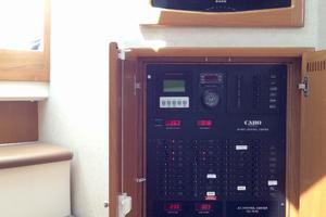 40' Cabo Express 2011 Salon LCD TV and Distribution Panel