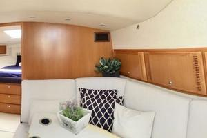 40' Cabo Express 2011 Wide View Salon Forwardd