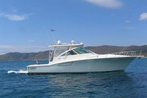 40' Cabo Express 2011 Starboard Profile