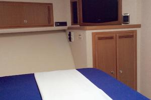40' Cabo Express 2011 Master Stateroom LCD TV