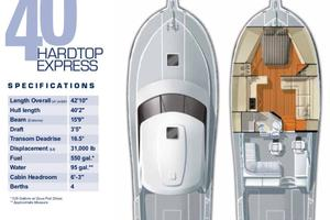 40' Cabo Express 2011 Layout