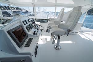 64' Hatteras 64 Motor Yacht 2006 Upper Helm