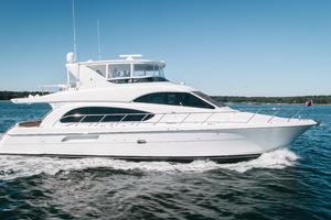 64' Hatteras 64 Motor Yacht 2006 Starboard Profile
