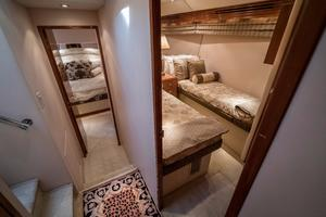 64' Hatteras 64 Motor Yacht 2006 Master and Guest Stateroom