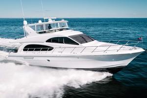 64' Hatteras 64 Motor Yacht 2006 Stbd Profile Running