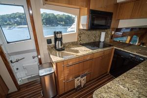64' Hatteras 64 Motor Yacht 2006 Galley w/ Stbd Door