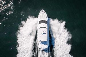 64' Hatteras 64 Motor Yacht 2006 Overhead