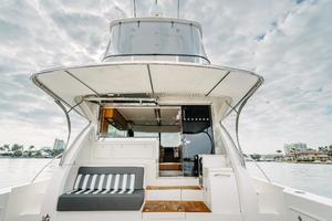 50' Riviera 50 Enclosed Bridge 2015 Cockpit and Enclosed Bridge