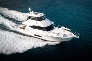 50' Riviera 50 Enclosed Bridge 2015 Starboard Running from Above