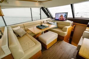 50' Riviera 50 Enclosed Bridge 2015 U-Shaped Dinette