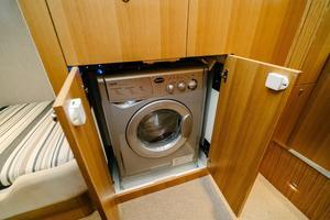 50' Riviera 50 Enclosed Bridge 2015 Washer/Dryer Combo Unit