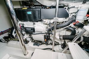 50' Riviera 50 Enclosed Bridge 2015 Stbd Engine