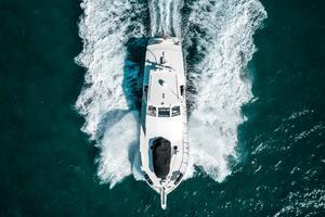 60' Viking 60 Motor Yacht 1996 Overhead