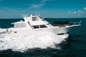 60' Viking 60 Motor Yacht 1996 Stbd Profile