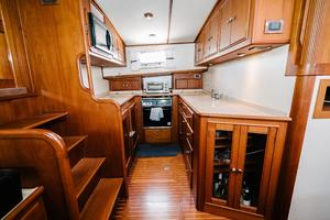 49' Grand Banks 49 Eastbay HX 2002 Galley to Port