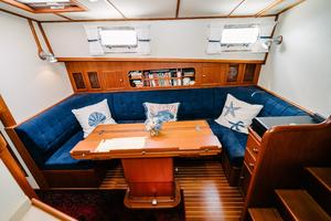 49' Grand Banks 49 Eastbay HX 2002 Dinette to Stbd