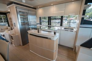 72' Absolute 72 2016 Galley to Port 2