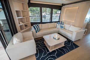 72' Absolute 72 2016 Seating to Port