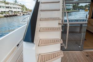 72' Absolute 72 2016 Stairs to Flybridge