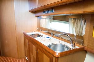 44' Mochi Craft 44 Dolphin 2008 Galley Fwd