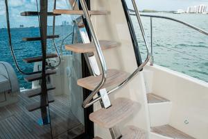 45' Beneteau Monte Carlo 4 2016 Stairs to Flybridge