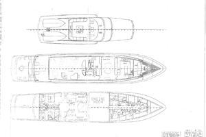 121' Denison Raised Bridge Cockpit Motor Yacht 1986
