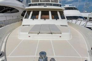 66' Offshore 66' Pilothouse 2005 Foredeck