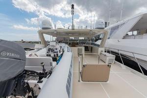 66' Offshore 66' Pilothouse 2005 Boat Deck Forward