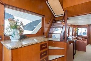 66' Offshore 66' Pilothouse 2005 Pilothouse Stairs to Flybridge