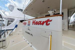 66' Offshore 66' Pilothouse 2005 Transom to Port