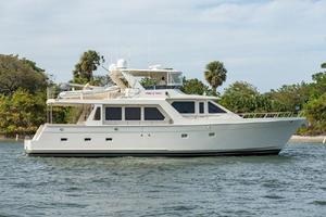66' Offshore 66' Pilothouse 2005 Starboard Profile
