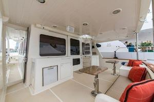 66' Offshore 66' Pilothouse 2005 Aft Deck to Starboard