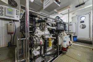 66' Offshore 66' Pilothouse 2005 Starboard Engine Forward