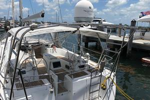 49' Beneteau America 49 2007 Arch with KVH satellite TV antenna