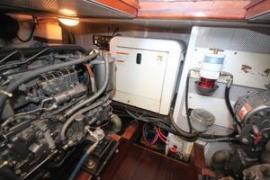 42' Vicem 42 Classic 2003 Kohler 8kw generator- 220 hours