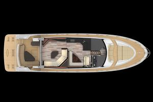 59' Sea Ray L590 2017 main deck layout
