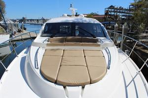 59' Sea Ray L590 2017 looking aft from bow