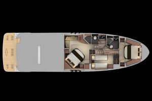 59' Sea Ray L590 2017 cabins layout