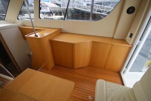 42' Rodman 1250 ADV Fisher/Cruiser 2014 starboard in salon
