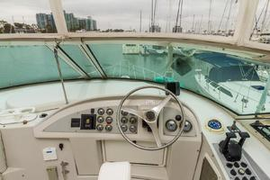 68' Bluewater Yachts 68 1998 Helm Station