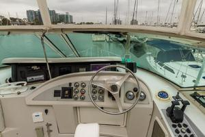 68' Bluewater Yachts 68 1998 Helm w Electronics up