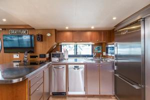 68' Bluewater Yachts 68 1998 Galley