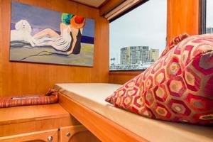 68' Bluewater Yachts 68 1998 Guest Cabin / Office