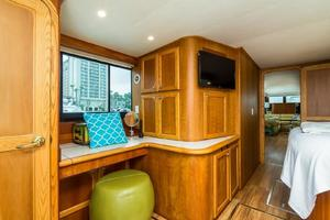 68' Bluewater Yachts 68 1998 Master Cabin Desk